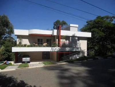 Casa Com 4 Dormitórios À Venda, 600 M² Por R$ 1.800.000 - Granja Viana - Embu Das Artes/sp - Ca1881