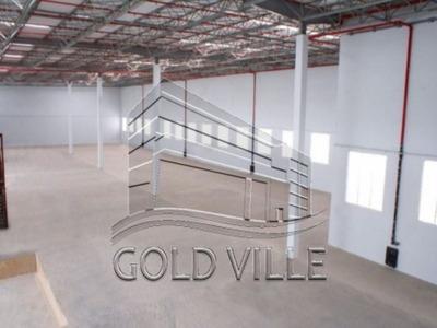 Galpão Industrial Para Locação, Vila Ouro Verde, Jandira - Ga0862. - Ga0862 - 33872372