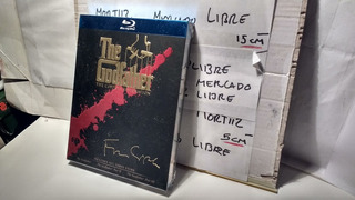 Trilogia Bluray Fisico Película El Padrino Coppola Godfather