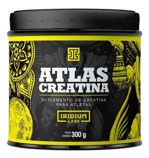 Creatina Atlas Mono-hidratada Pura 300g - Iridium Labs + Nf