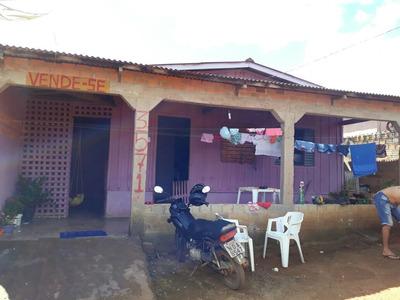 Casa Mini-saia Dois Quarto Sala E Cozinha Banheiro Área Em L