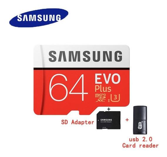 100% Cartão Original Samsung Evo + Micro Sd De 128gb 16g De
