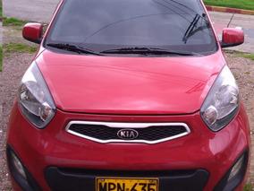 Kia Picanto Ion Lx 2013 Rojo 5 Puertas
