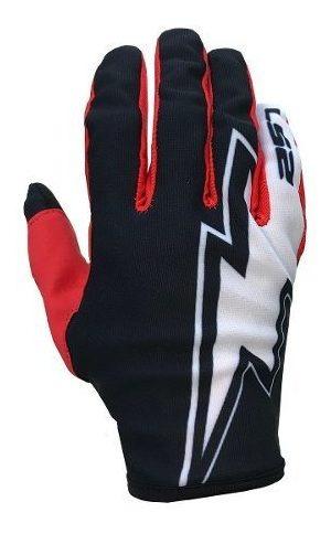 Guantes Moto Motocross Ls2 Mx Ranger Flash Negro Rojo Blanco