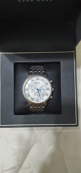 Relógio Hugo Boss Cronograph Estilo Clássico