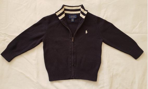 Saco Cárdigan Hilo Polo Ralph Lauren Original Talle 2 Años