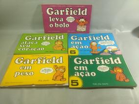 Livro Revista Garfield Lote Com 05