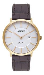 Relógio Orient Slim Masculino Vidro De Safira Mgscs006 S1mx