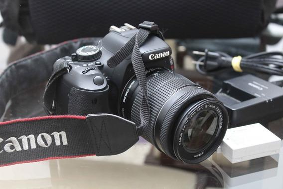 Canon Rebel T3i + Lente 18 55 + Cartão 16g