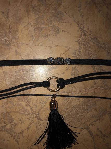 3 Collares Negros