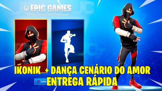 Ikonik Skin Fortnite + Dança - Ps4/xbox/pc/android/ios