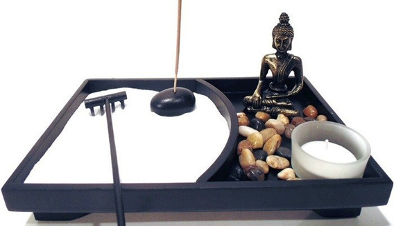 Jardim Zen Buda Com Meditação Feng Shui B3