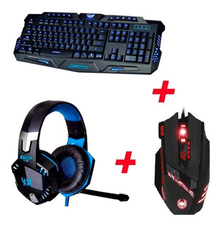 Teclado Gamer M200+ Mouse 9200 Dpi+diadema G2000 Kotion Each