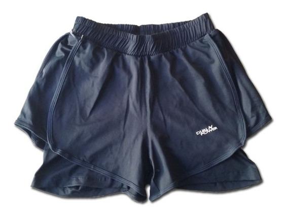 Shorts Running Traning Con Calza Hombre