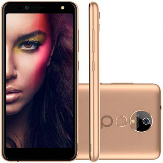 Smartphone Quantum You 2, Dourado, Tela De 5,5 , 16gb, 13mp
