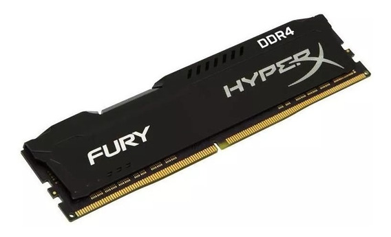 Memória Kingston Hyperx Fury 16gb 2666mhz Ddr4 - Original