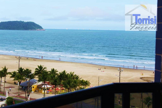 Apartamento 03 Dormitórios Com Vista Total Para O Mar Na Aviação, Praia Grande, Ref. Ap1667 - Ap1667