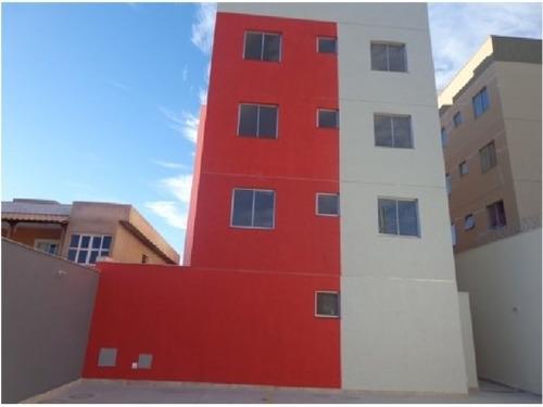 Imagem 1 de 9 de Apartamento Com Área Privativa À Venda, 2 Quartos, 1 Vaga, Lagoinha Leblon (venda Nova) - Belo Horizonte/mg - 408
