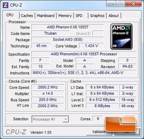 Processador Phenom X6 1055t 2.8 Ghz + Cooler + Garantia