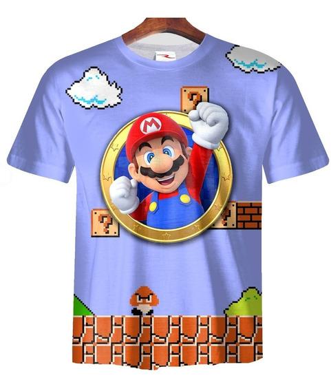 Remera Super Mario Bros Ranwey Pr186