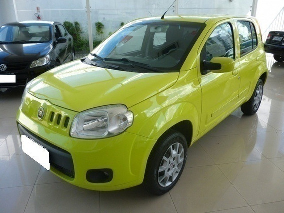 Fiat Uno 1.0 Vivace Amarelo 8v Flex
