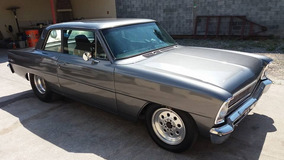 Chevy Nova 11 Coupe 1966 Cuarto De Milla 580 Hp