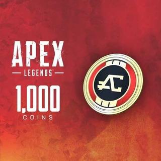 1.000 Apex Coins Monedas Apex Origin Pc Y Xbox