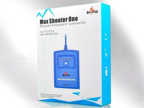 Maxshooter One Teclado Mouse Ps3 Ps4 Xbox 360 One 2019