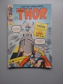 Gibi Hq Álbum Gigante Nº 2 O Poderoso Thor Ebal
