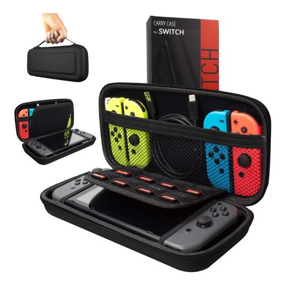 Funda Nintendo Switch Estuche Protector Orzly Original Rigid