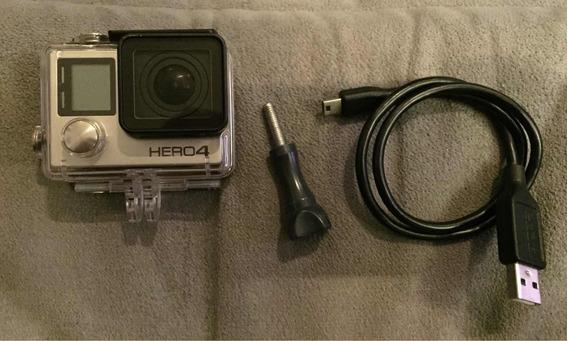 Câmera Gopro 4 Silver, Excelente Estado.