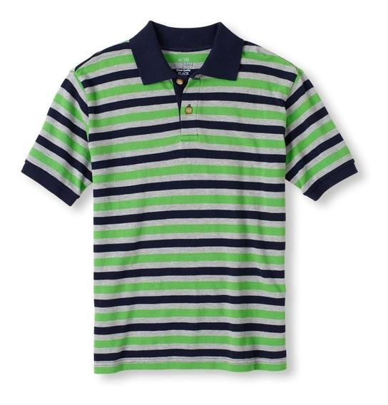 Playera Para Niño Tipo Polo. Talla 5 Y 7