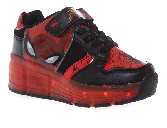 Tenis Patines Led Spiderman 2020 Originales ¡envío Gratis!