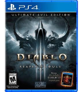 Diablo 3 Reaper Of Souls Ultimate Evil Edition Ps4