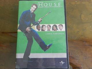 Dvd Serie Dr. House 4 Temporada