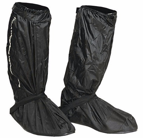 Cubre Bota Zapato Calzado Moto Impermeable Lluvia Negro