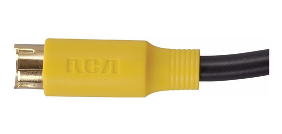 Cable De S-video Super Video Rca Vh976r 1.8 Metros