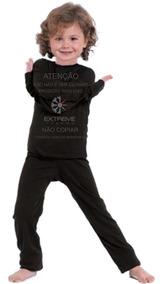 Segunda Pele Térmica Frio Intenso Extreme Kids Calça + Blusa