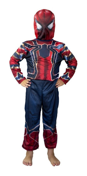 Disfraz Spiderman Con Luz Disney Original Marvel Oferta
