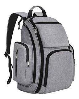 Mancro Diaper Bag Backpack Organizer Baby Back Pack Para Mom