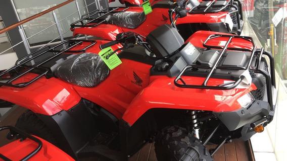 Honda Trx 420 Tm 4x2 2019 Nuevo Rojo Moto Sur