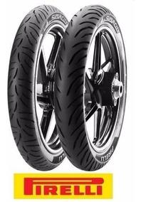 Par Pneu Pirelli Super City 2.75-18 E 90/90-18 Cg150 Titan