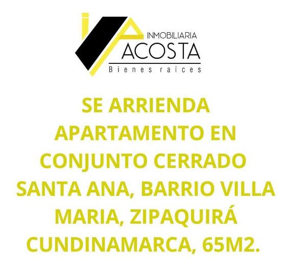 Se Arrienda Apartamento En Zipaquira Cundinamarca