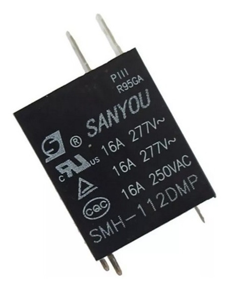 Kit Com 10 Peças Relê Microondas Smh-112dmp 12v X 16a
