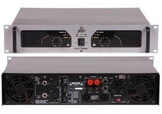 Potencia Amplificador Peavey Pvi1000 Crossover Incorporado