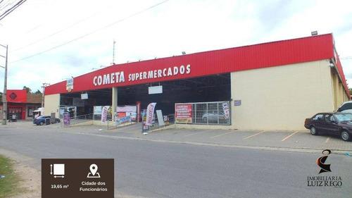 Lj1986 - Aluga Loja No Estacionamento Do Cometa Da Cidade Dos Funcionários - Lo0137