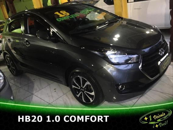 Hyundai Hb20 1.0 Comfort 2018 Cinza