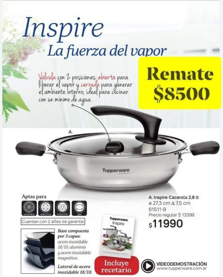 Cacerola Inspire Tupperware