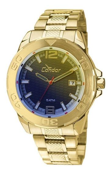 Relógio Condor Dourado Ferragens Xgg Garantia 1 Ano Nf