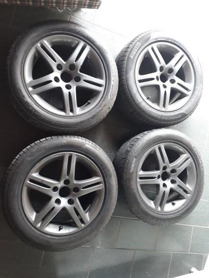 Jogo De Rodas New Civic Exs Aro 16 Originais Honda Perfeitas